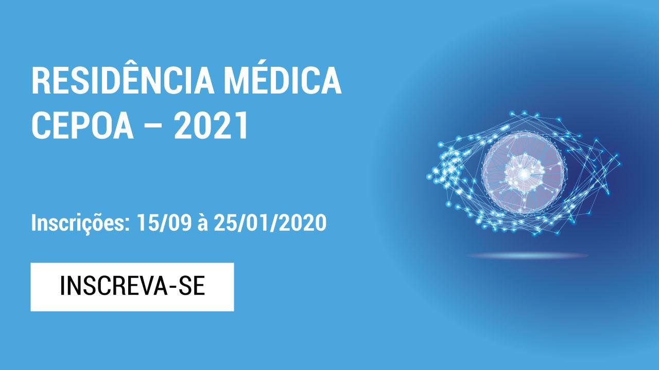 RESIDÊNCIA MÉDICA CEPOA – 2021